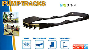 Skate Park PumpTracks Equipment