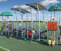 Outdoor Playground and Site Furnishings