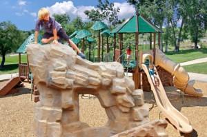Climbing Rocks for Playground