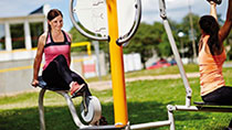 Outdoor Fitness Equipment for Legs