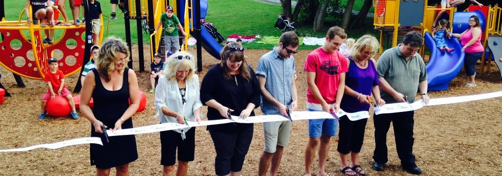 Barry Donoghue Memorial Park Ribbon Cutting
