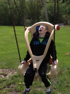 Inclusive Playground Swing Seat