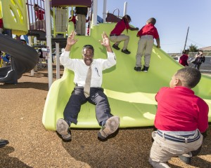 New Orleans Playground Ribbon Cutting