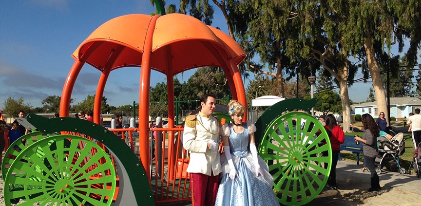 Cinderella Carriage Playground Equipment