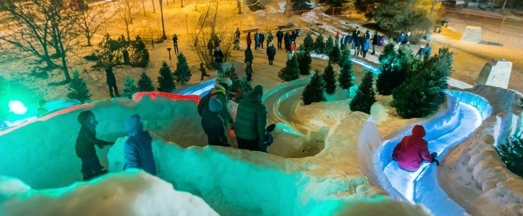 Ice Slide Canada