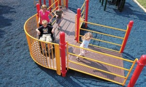 Playground Equipment for Wheelchairs