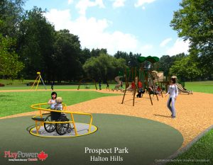 Spinmee in Prospect Park. Concept Rendering.