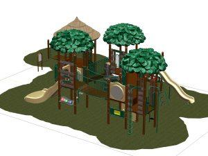 World's best playground; RCMP remembered; New Brunswick; Canada