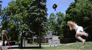Ziplines, Inclusive Spinner, Best Play Equipment, Fantastic Park In Acton, Playground, Canada