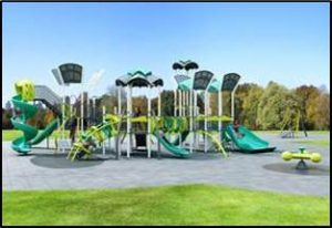 Inspriational Playground design for El Dorado Park
