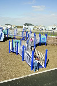 Inclusive Play in Paradise, Newfoundland playground