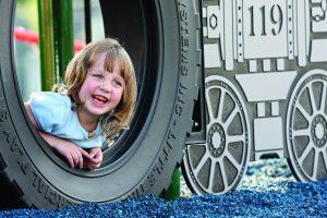 Mini-train, Bowness Park, Best playground in Calgary, Train playground