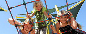 Kids Having Fun on Playground