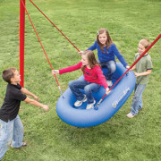 Raft Swing Playground Equipment