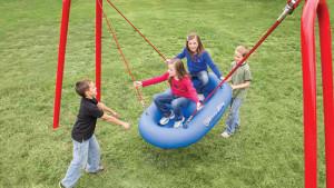 Raft Swing Playground Equipment