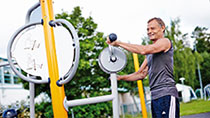 Outdoor Fitness Equipment for Arms