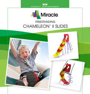 New Freestanding Slide For Your Play Ground