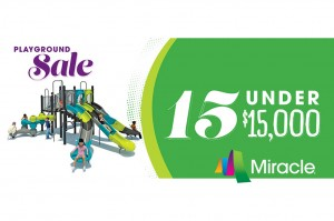 Miracle Recreation Playground Sale 2015