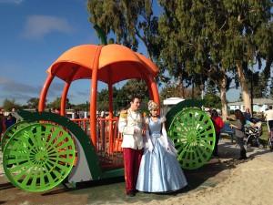 Cinderella Carriage Playground Equipment
