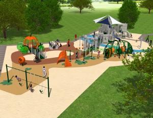 Fairytale Playground Equipment