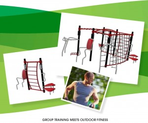 Outdoor Fitness Solution From Miracle Recreation