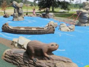 Wilderness Themed Playground