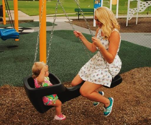 Mom & Tot Swing, Playground, Best Play Equipment, Canadian