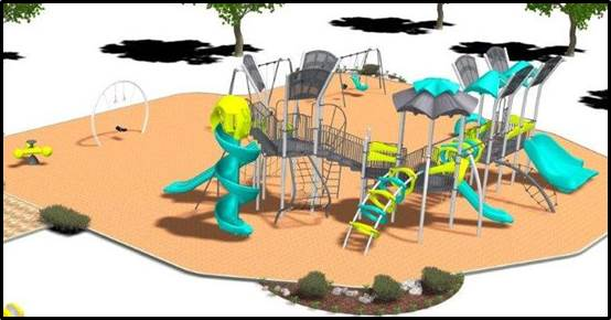 Wow Playground In El Dorado Park