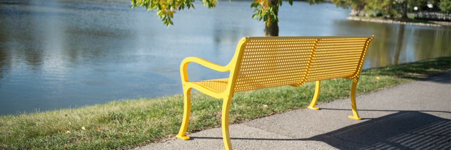 Wabash Valley Yellow Bench