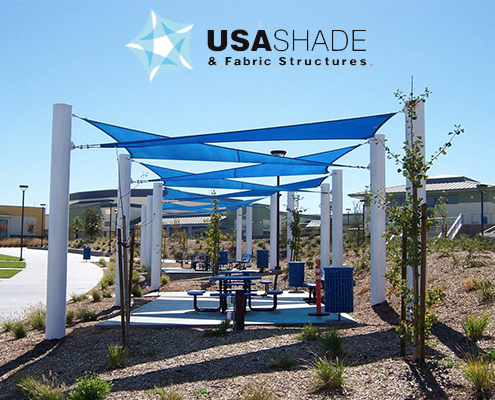 Shade Structure From USA SHADE & Fabric Structures