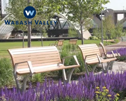 Park Benches From Wabash Valley