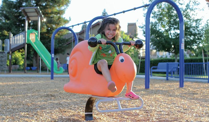 Urban Playground Equipment