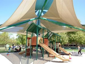 Shade for Park Playground