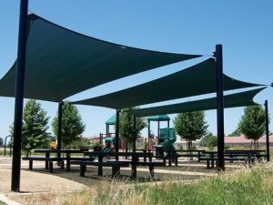 Shade over Park Picnic Area