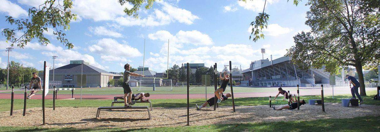 Fitness Training Outdoors
