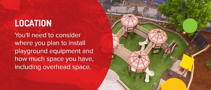Consider Location When Choosing Playground Equipment