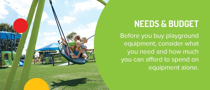 Consider Needs And Budget When Choosing Playground Equipment