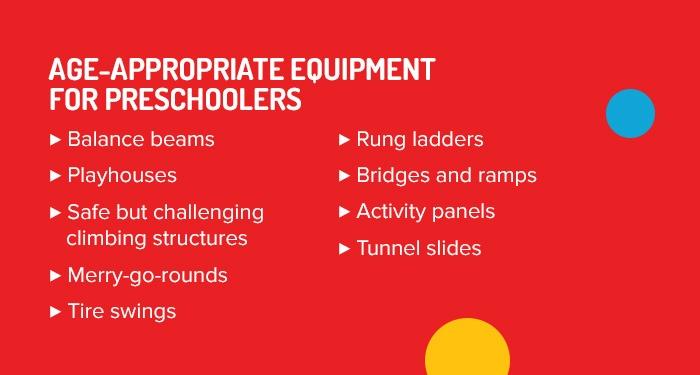 Playground Equipment for Preschoolers