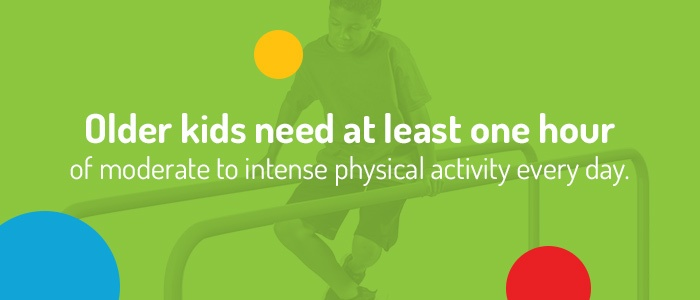 One Hour Of Moderate To Intense Physical Activity Every Day
