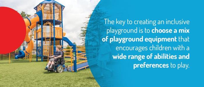 Choosing Inclusive Playground Equipment