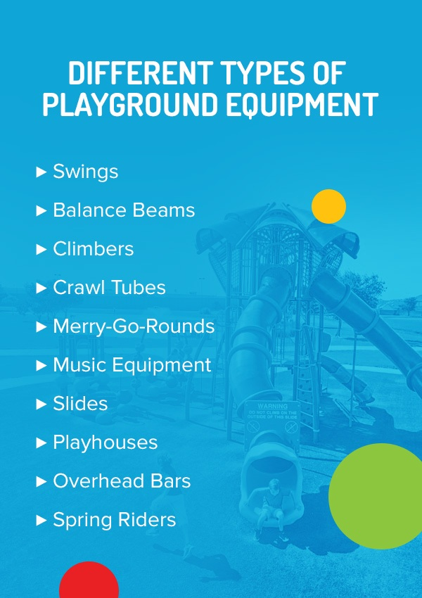 Different Types Of Playground Equipment