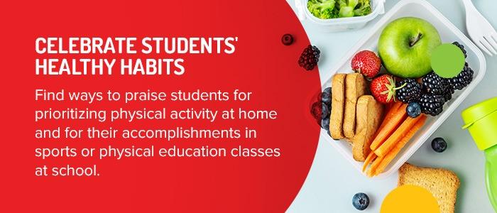 Celebrate Students' Healthy Habits