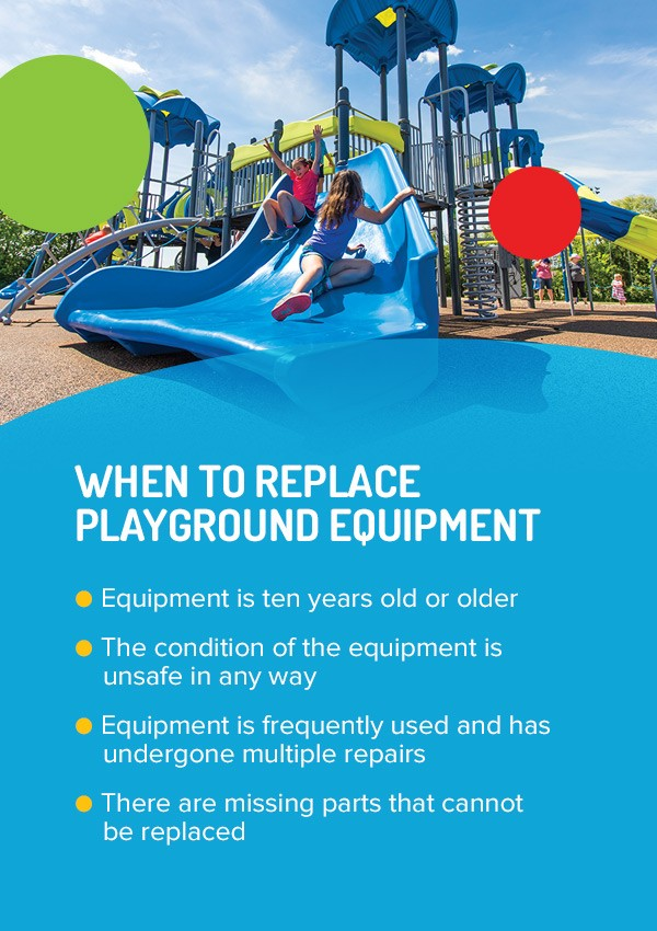 When To Replace Playground Equipment