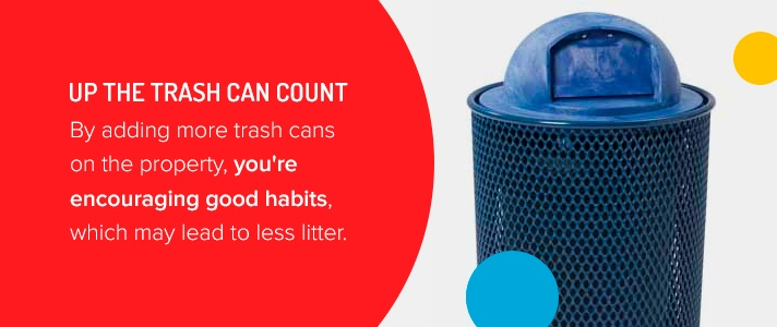Increase Trash Can Count
