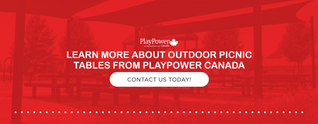 Learn more about picnic tables from PlayPower Canada