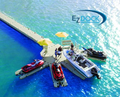 EZ Dock at Prince Edward Island Canada